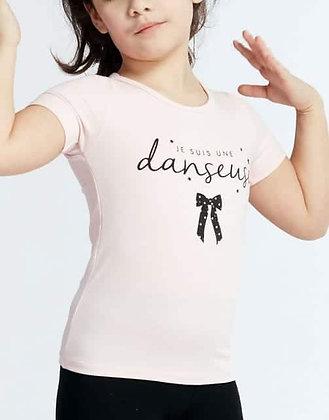 T-Shirt Anais Noeud rose