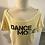 Thumbnail: Skazz T-Shirt Dance Mood JAUNE