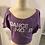 Thumbnail: Skazz T-Shirt Dance Mood MAUVE