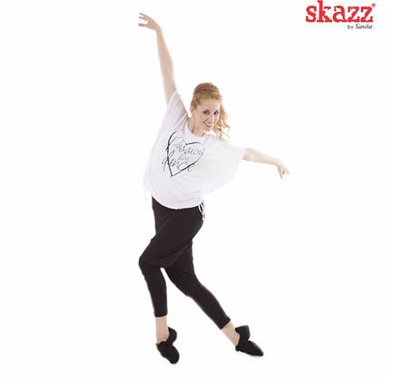 Skazz T-Shirt PASSION FOR DANCE BLANC