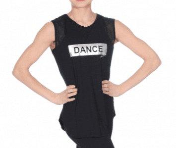 Debardeur Résille DANCE noir RDE-1758NB
