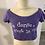 Thumbnail: Skazz T-Shirt Je danse c'est la vie ! Mauve