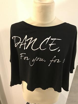 Skazz T-shirt Dance for you for us NOIR