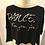 Thumbnail: Skazz T-shirt Dance for you for us NOIR