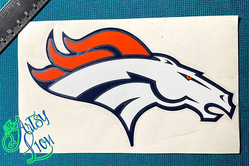 Denver Broncos decal
