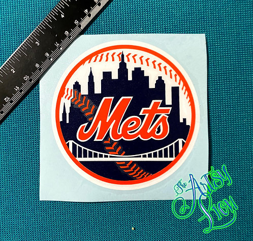 New York Mets decal