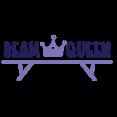 Beam queen, crown, balance beam