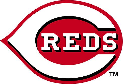 Cincinnati Reds, large C, reds inside, red, white