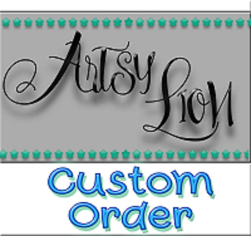 Custom order decal 1 layer