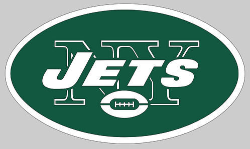 New York Jets, Green and white, oval