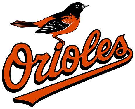 Baltimore Orioles, bird, orange, black, white