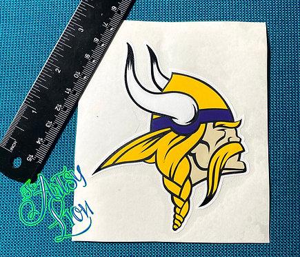 Minnesota Vikings decal