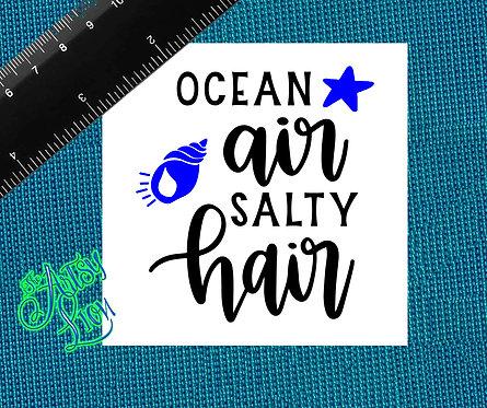 Ocean air salty hair - 1 layer/2 color