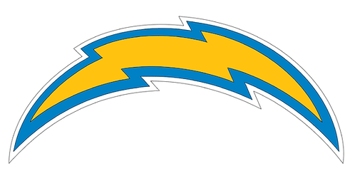 Los Angeles Chargers (new logo) decal