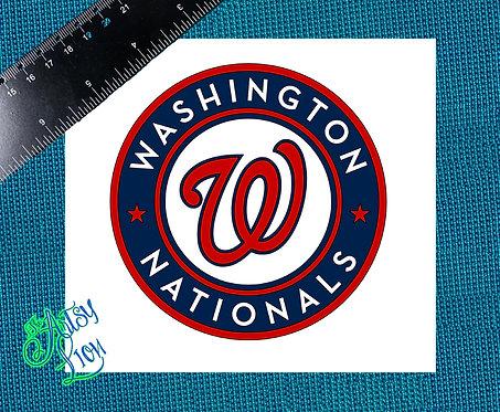 Washington Nationals decal