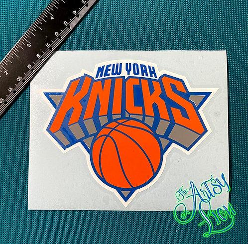 New York Knicks decal
