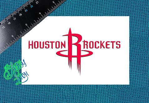 Houston Rockets decal