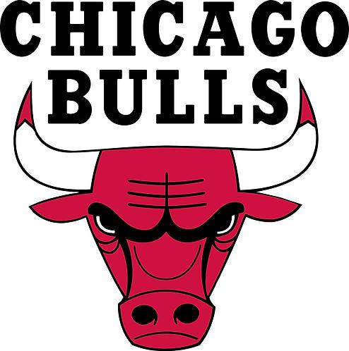 Chicago Bulls, red, black, white,