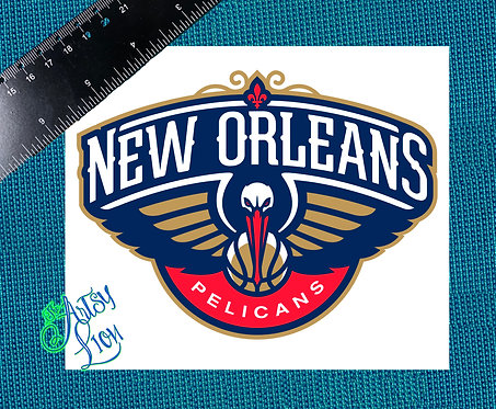 New Orleans Pelicans decal
