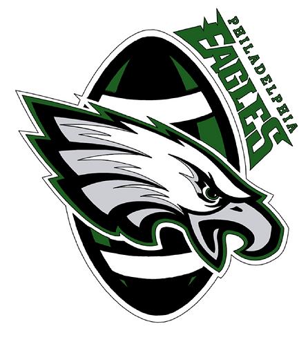 Philadelphia Eagles, football, eagle, green, black, white