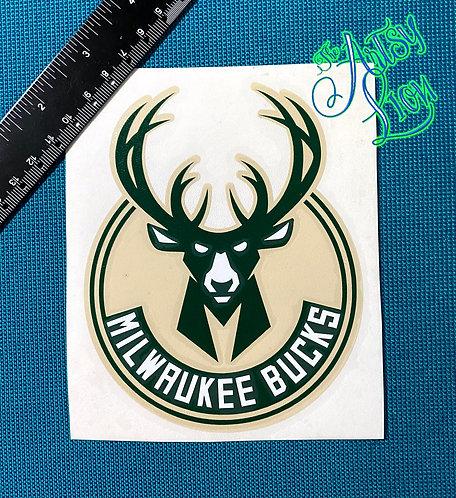 Milwaukee Bucks decal