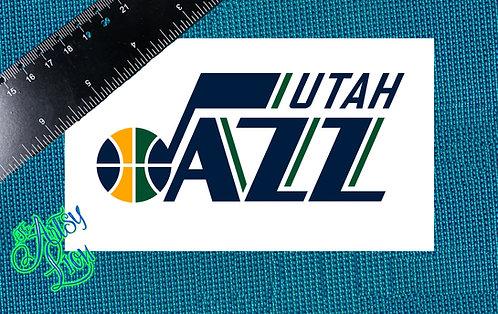 Utah Jazz decal