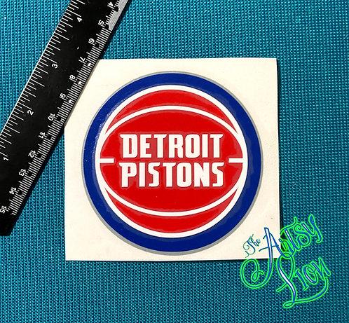 Detroit Pistons decal