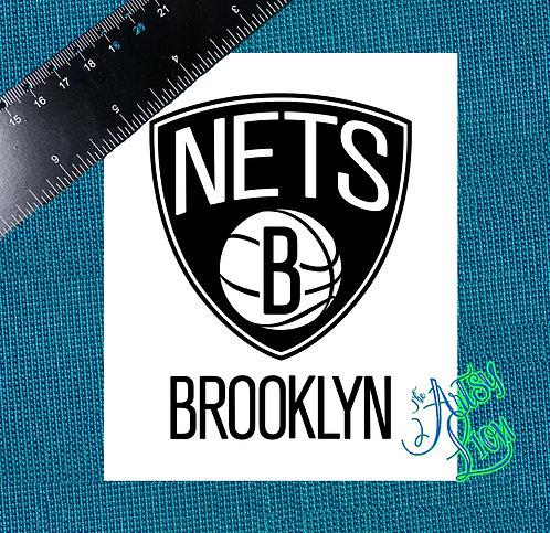 Brooklyn Nets decal