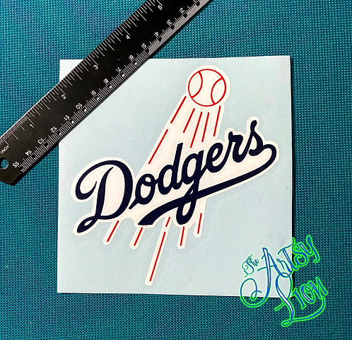 Los Angeles (LA) Dodgers decal