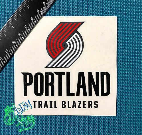 Portland Trail Blazers decal