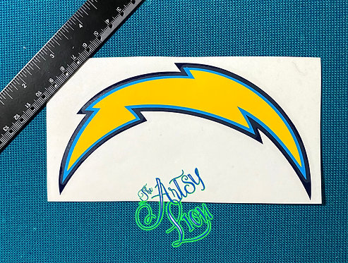 Los Angeles Chargers (older logo) decal