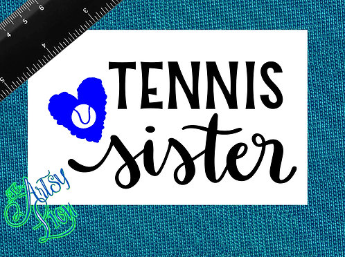 Tennis sister - 1 layer/2 color