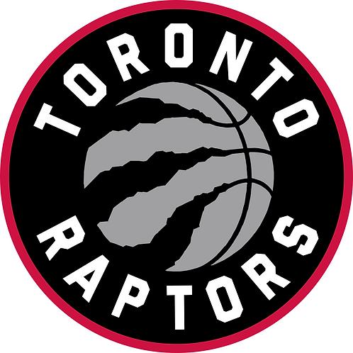 Toronto Raptors decal
