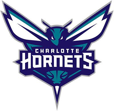 Charlotte Hornets, teal, blue, white