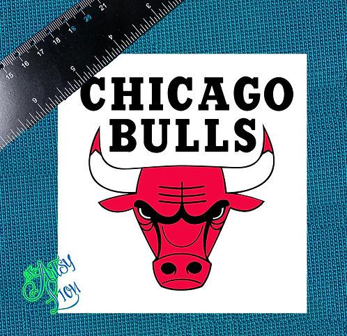 Chicago Bulls decal