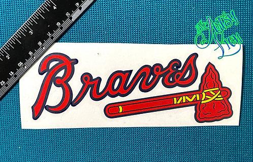 Atlanta Braves decal