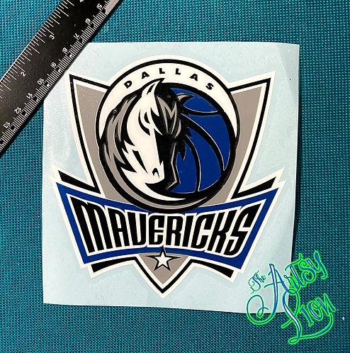 Dallas Mavericks decal