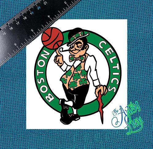 Boston Celtics decal