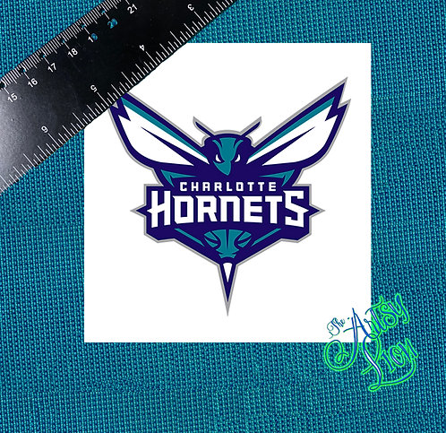 Charlotte Hornets decal