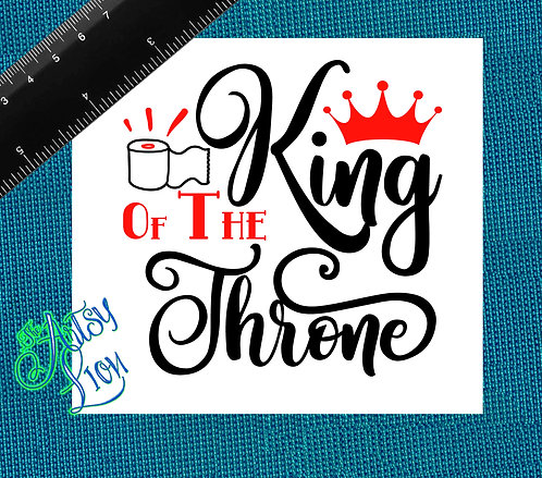 King of the Throne - 1 layer/2 color