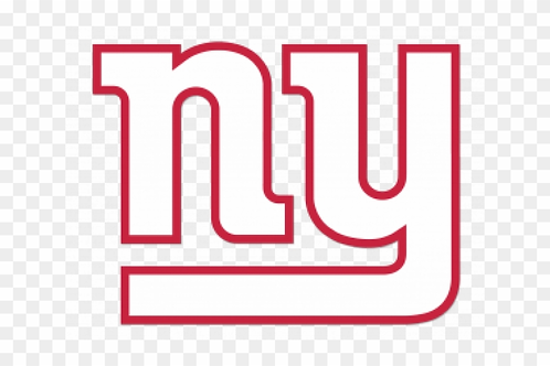 New York Giants, NY, white on red