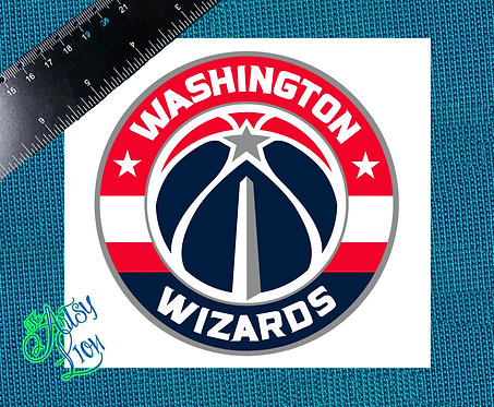 Washington Wizards decal