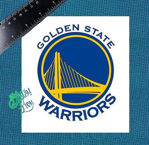 Golden State Warriors decal