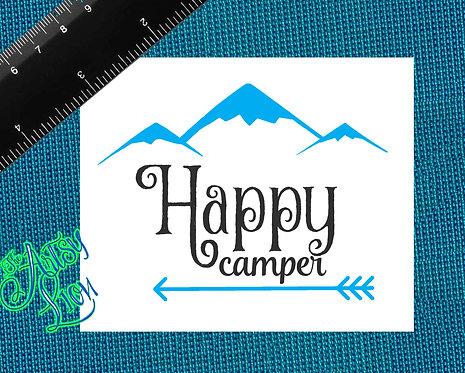 Happy Camper 1 layer 2 color