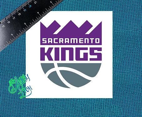 Sacramento Kings decal