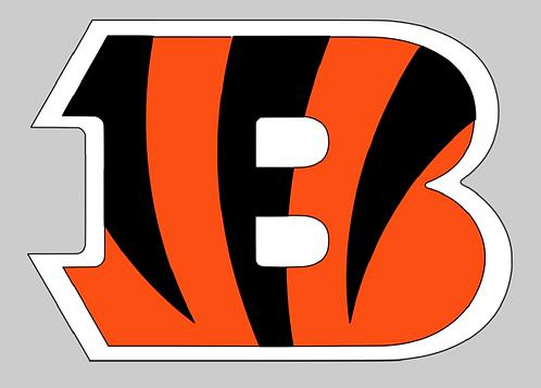 Cincinnati Bengals, helmet, orange, brown, white