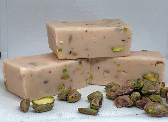Nougat with Raspberry & Pistachio nuts