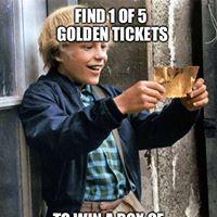 Golden ticket promotion