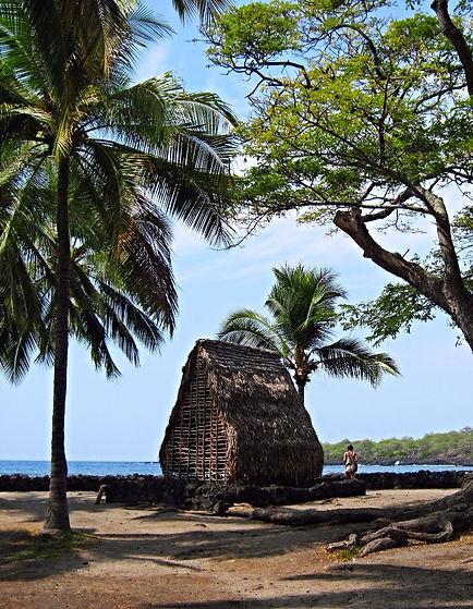 Puuhonua O Hanaunau place of refuge