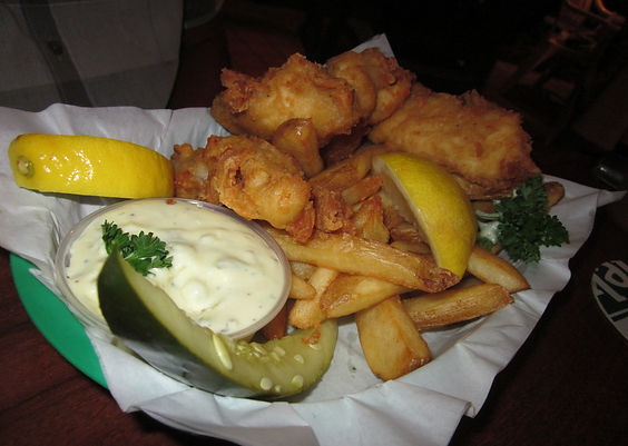 Quinn's Almost by the Sea fish & chips big island hawaii